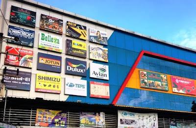 pemasok material bangunan murah harga grosir di Samarinda