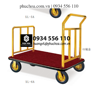 Xe đẩy hành lý XL-6A cho khách sạn