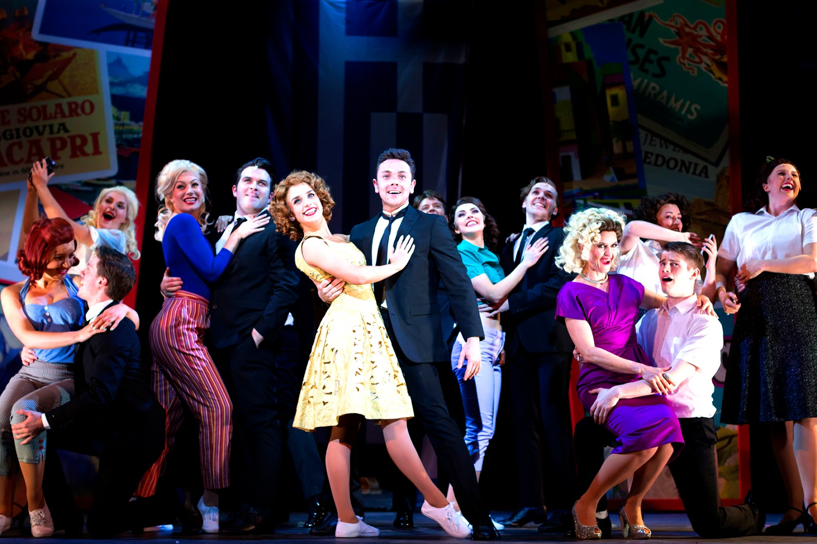 ray quinn summer holiday the musical cast review darlington hippodrome