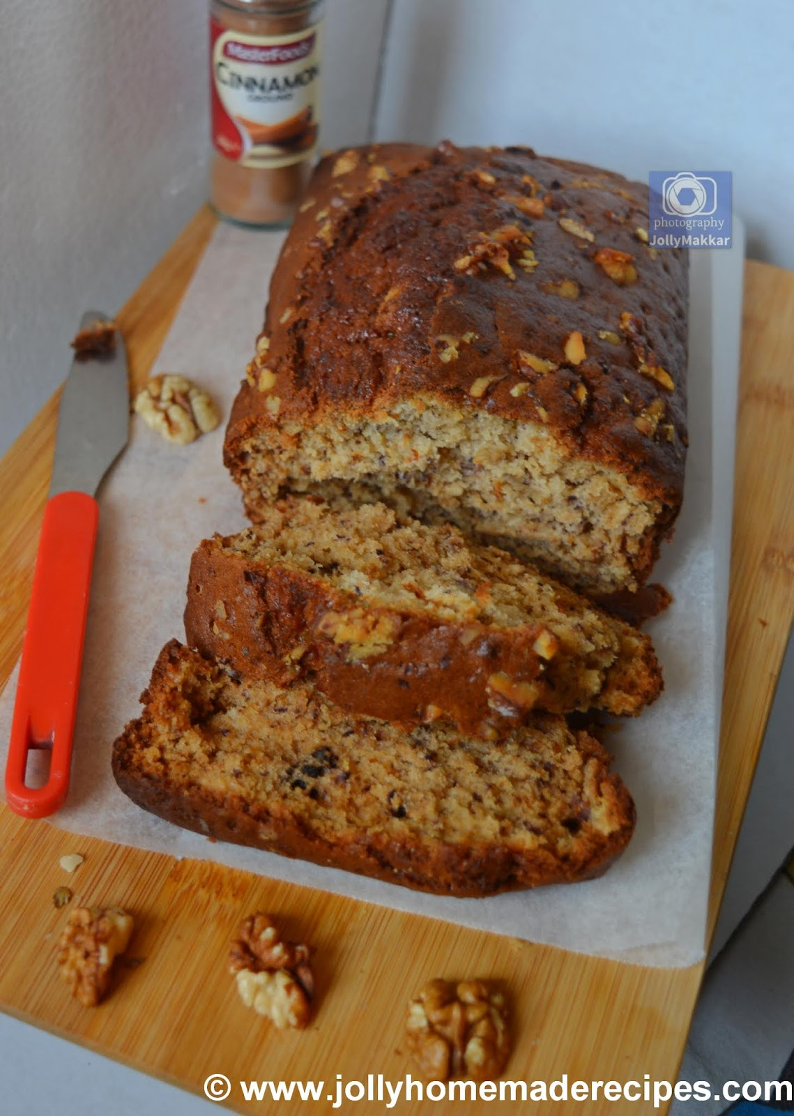 how to make chai-spiced banana bread