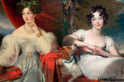1820s fashion