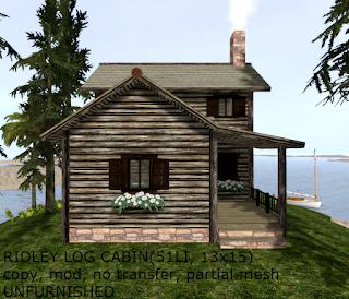 Ridley Log Cabin