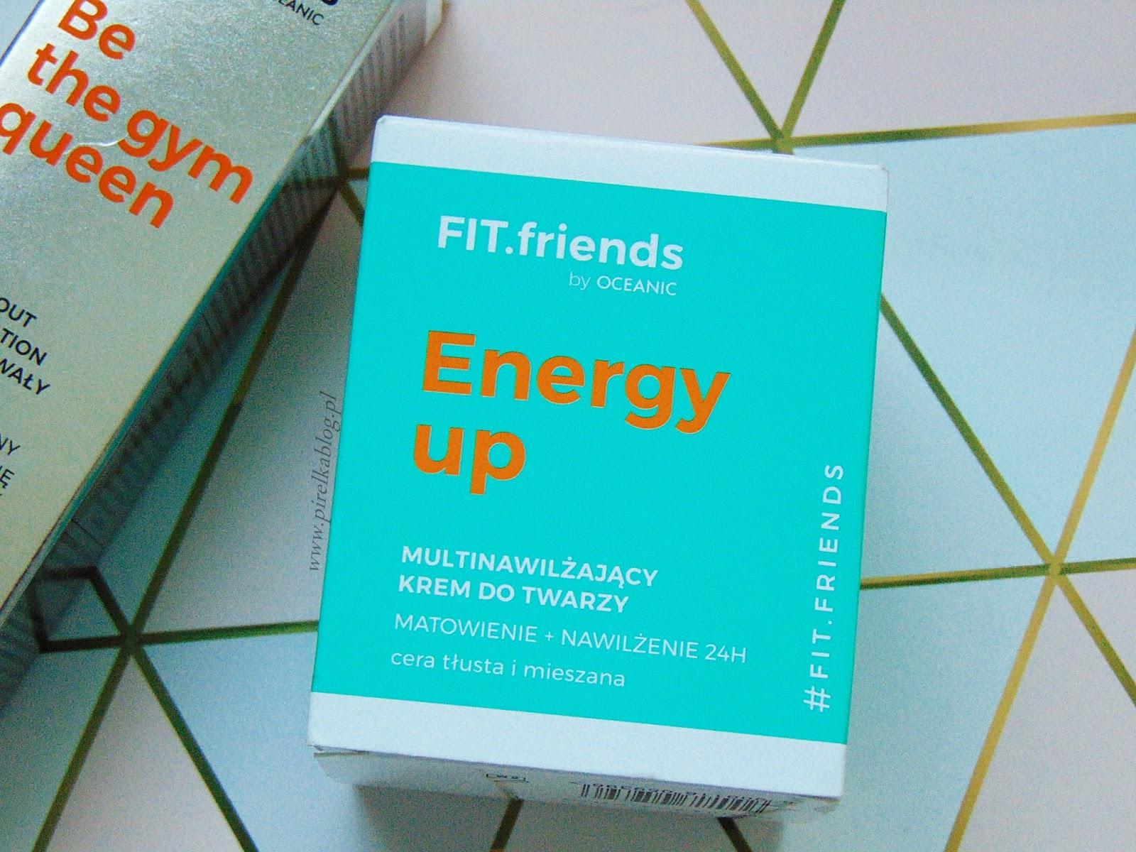 FIT friends by Oceanic, Energy UP - multinawilżający krem do twarzy