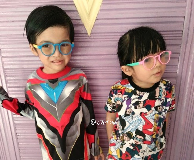 Kids fashion cute round glasses