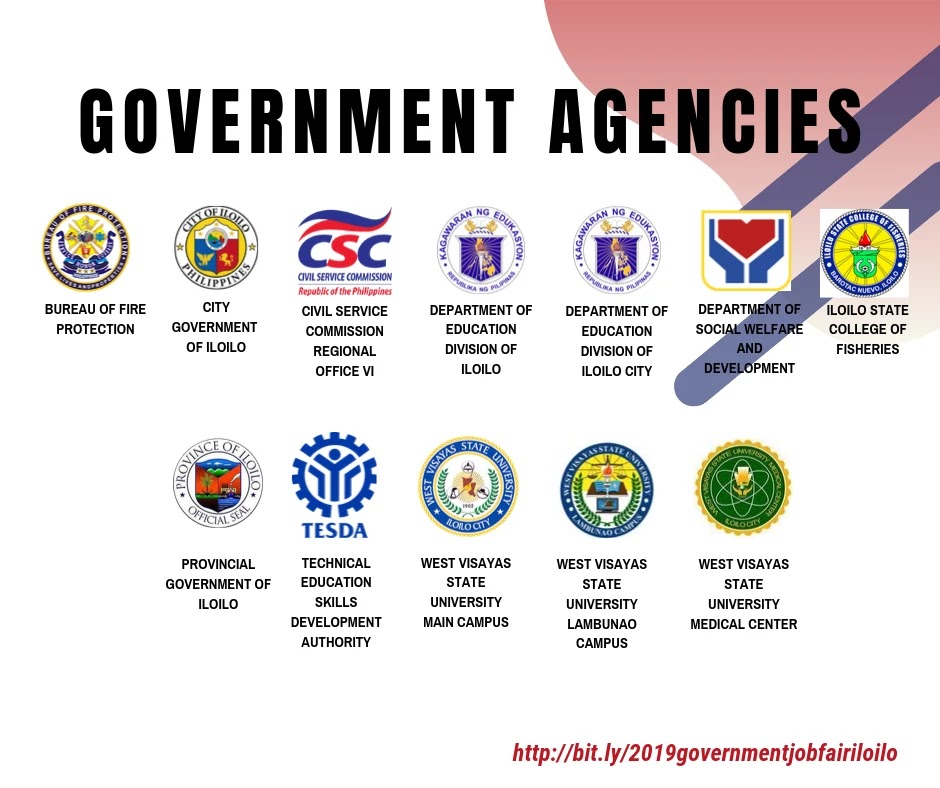2019 Participating Government Agencies