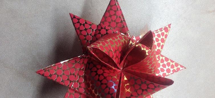 Sterne für Weihnachten selbermachen