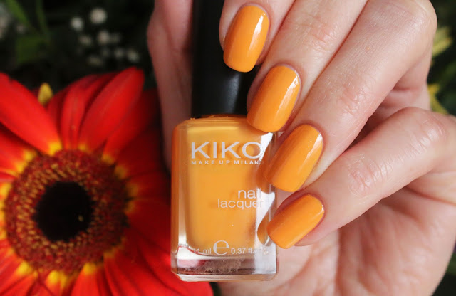 Kiko Melon nail polish swatch