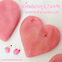 valentines day crafts for kids playdough