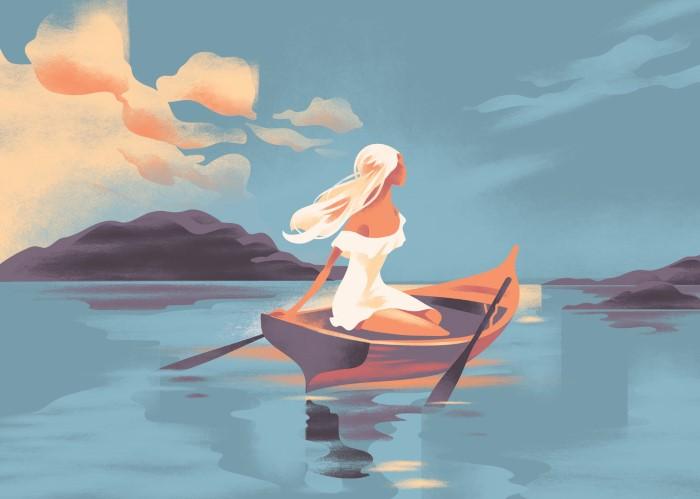 Иллюстрации в духе ар-деко. Mads Berg 6