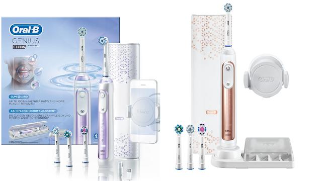 【香港發售】Oral B GENIUS 10000 智能電動牙刷 網店免費送貨