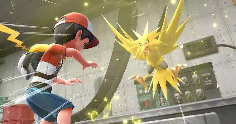 Pokémon Let's Go Pikachu e Eevee - Zapdos
