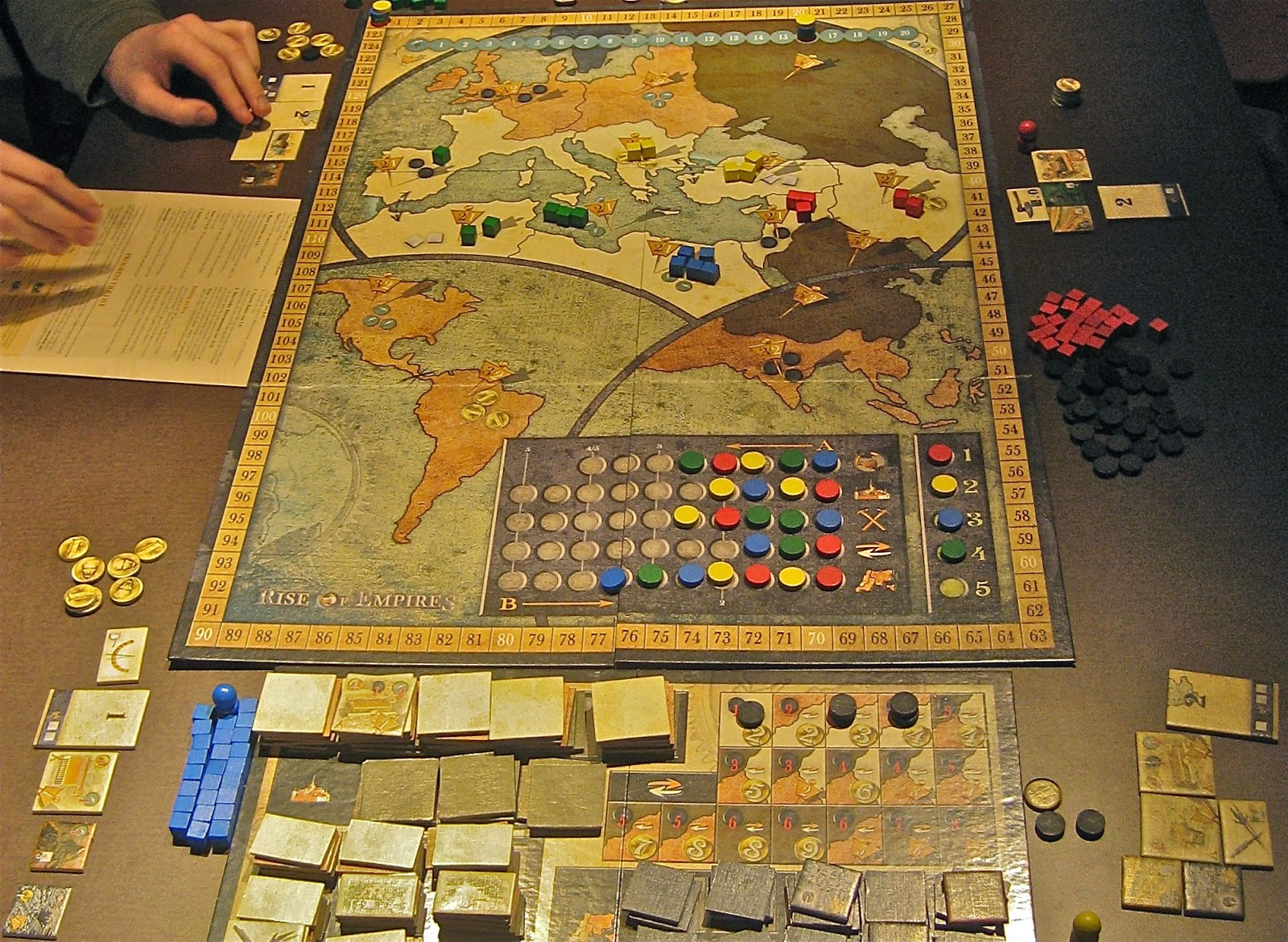 Yet Another Friggin' Gaming Blog: Playing At The World