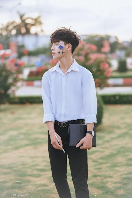 Điển trai như nam thần Hàn Quốc, bộ ảnh của nam sinh Hải Phòng bất ngờ gây sốt MXH - Ảnh 4