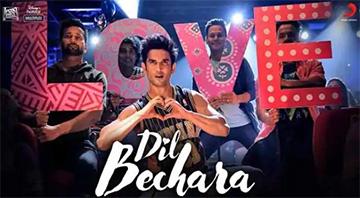 Dil Bechara Title Song Lyrics and Video - Dil Bechara (2020) || Sushant Singh Rajput, Sanjana Sanghi