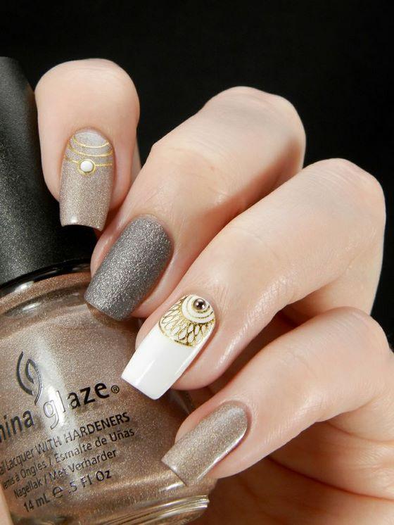 Hermosos diseños de uñas decoradas, Imagenes con modelos de uñas ...