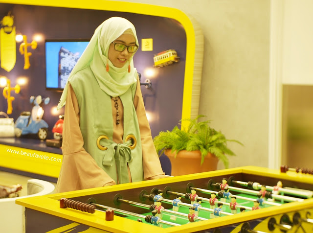 Gaming Stasion di Yello Hotel
