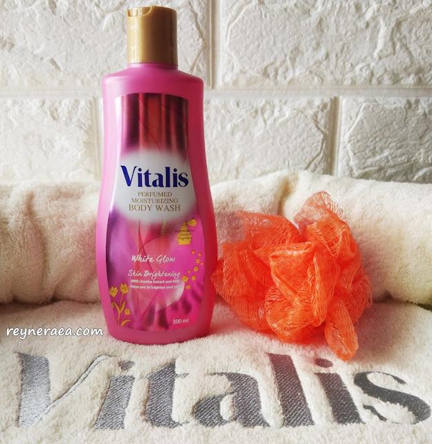 vitalis body wash white glow