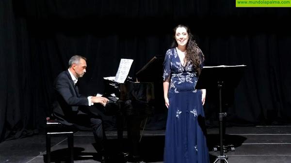 Brillantes Cecilia Rodríguez y Ricardo Francia en la apertura del VII Festival de Música Española y Zarzuela de La Palma