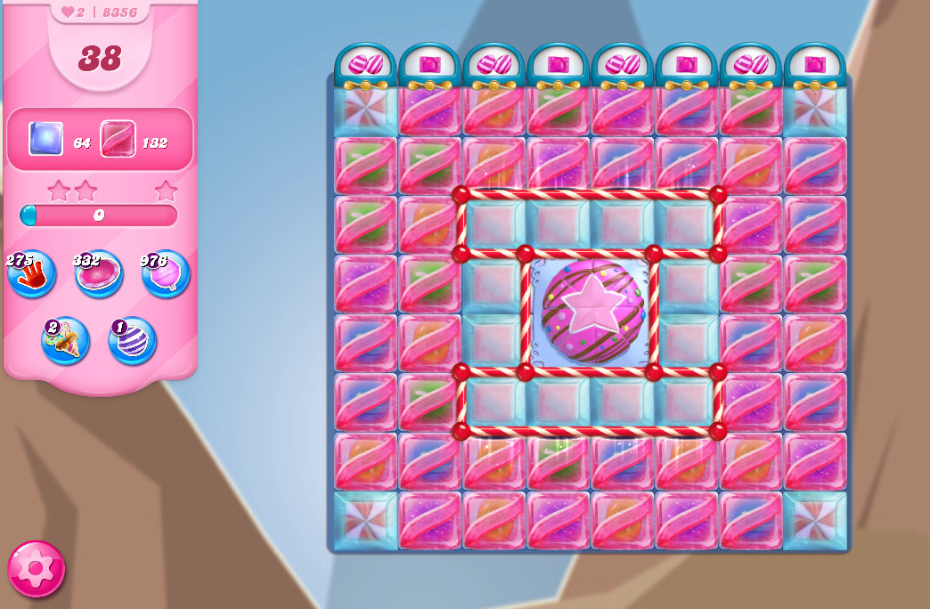 Candy Crush Saga level 8356