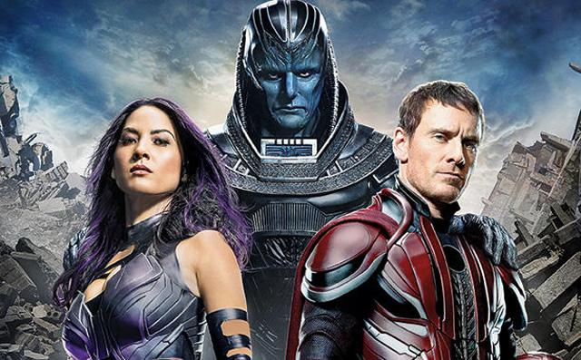Apocalypse revelado en foto nueva de la proxima pelicula de X-Men