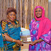 HER EXCELLENCY AISHA RECEIVES FORMER FIRST LADY PATIENCE JONATHAN IN THE STATE HOUSE ABUJA