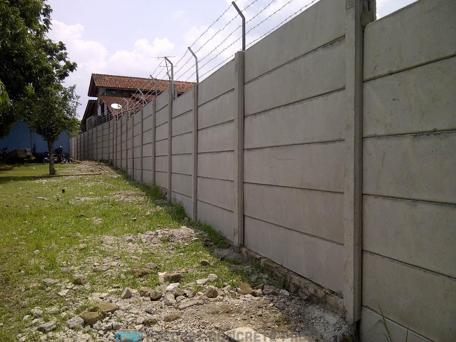 harga pagar panel beton megacon Jambu Ungaran