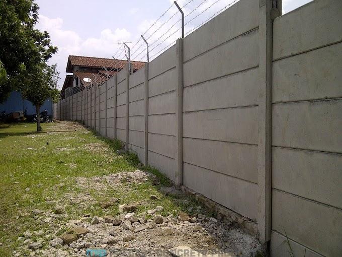 Harga Pagar Panel Beton Megacon di Tanggungharjo Grobogan