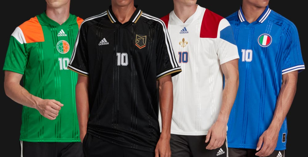 Adidas Euro 2020 City Jerseys Revealed - Amsterdam, Baku, Bilbao ...