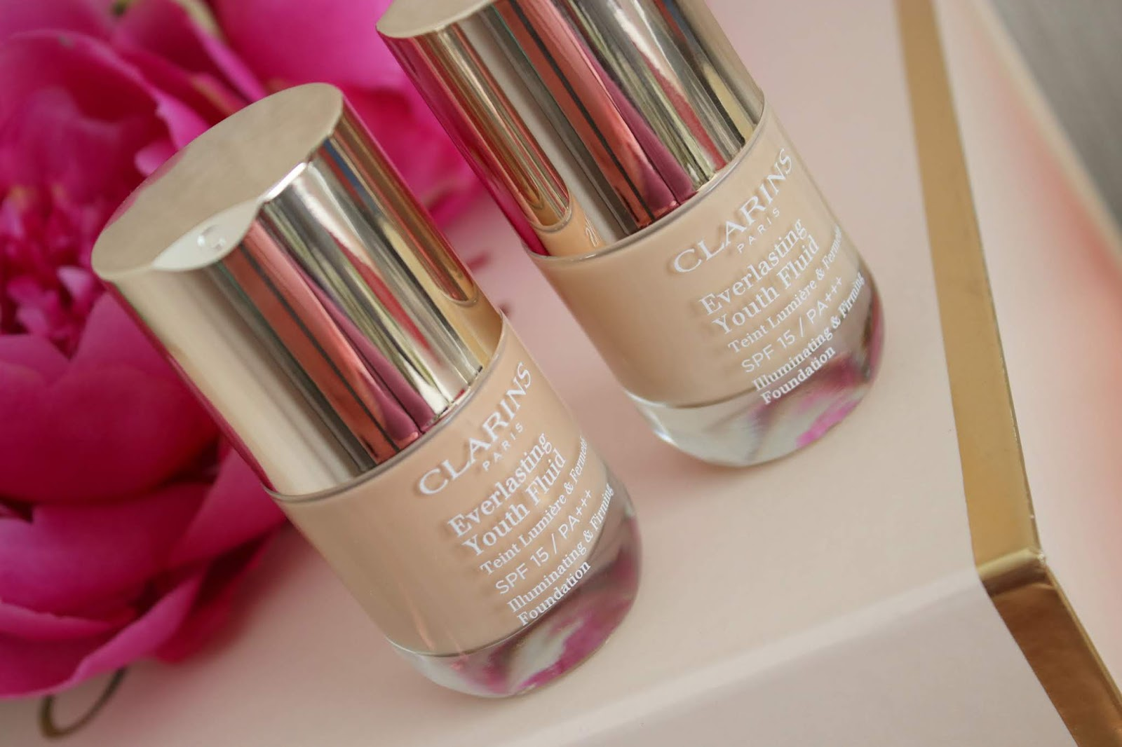 Clarins Everlasting Youth Fluid review, before & after photos!