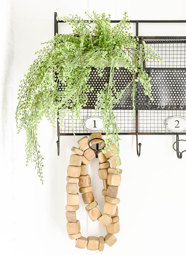 Wood garland from HomeGoods