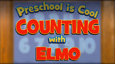 Sesame Street Preschool is Cool Counting With Elmo dvd