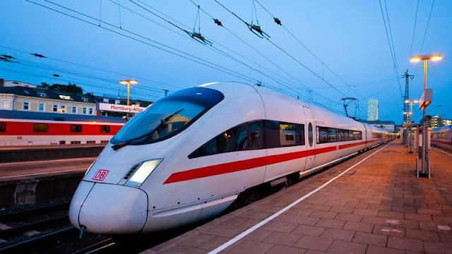 Viagem de trem de Colônia até Munique