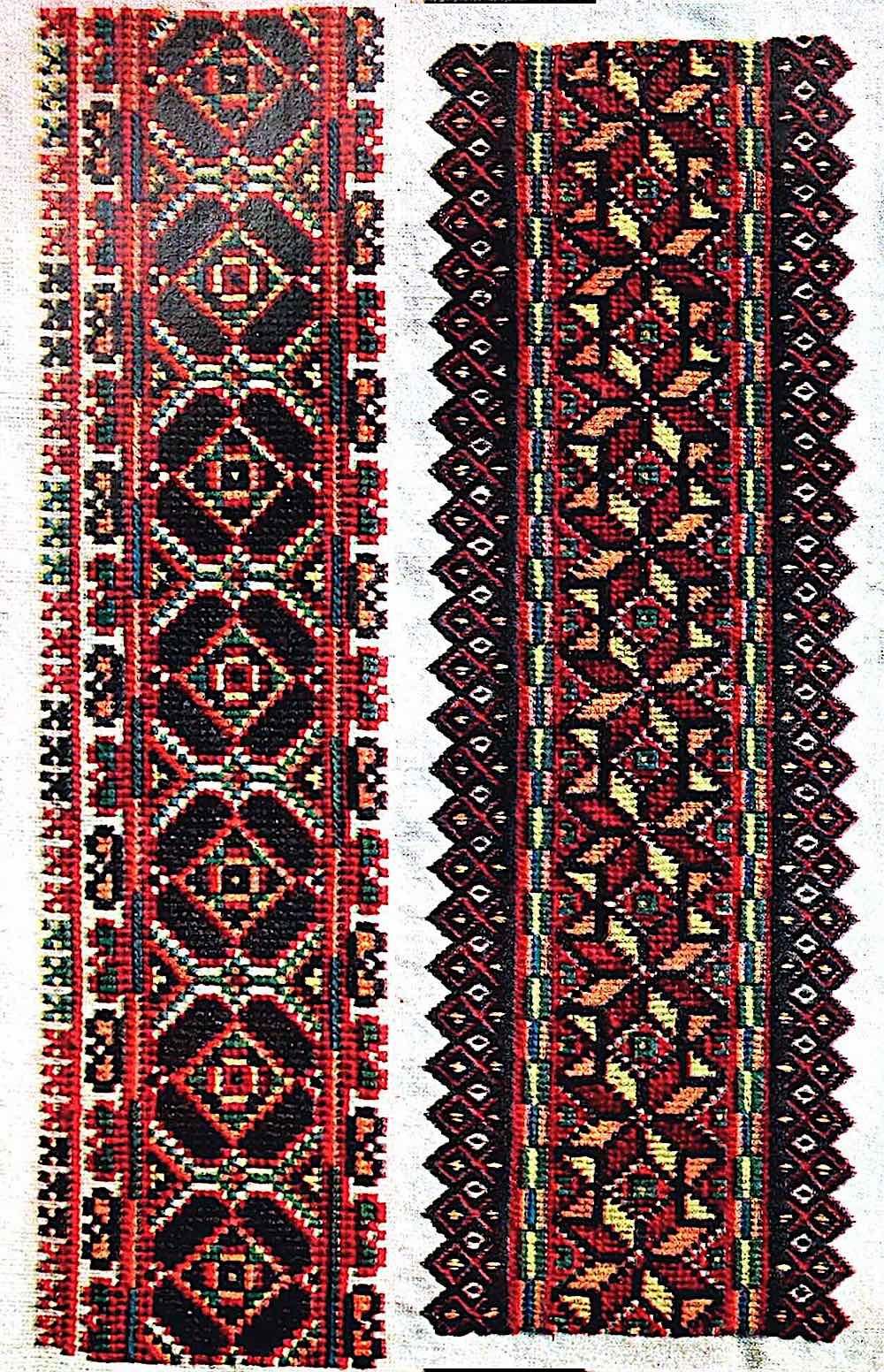 old Russia cloth trim