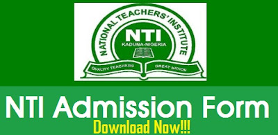 NTI Admission form online requirements