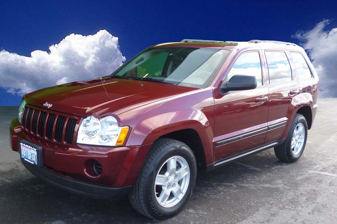 gamblin motors 2007 jeep grand cherokee laredo maroon. Black Bedroom Furniture Sets. Home Design Ideas