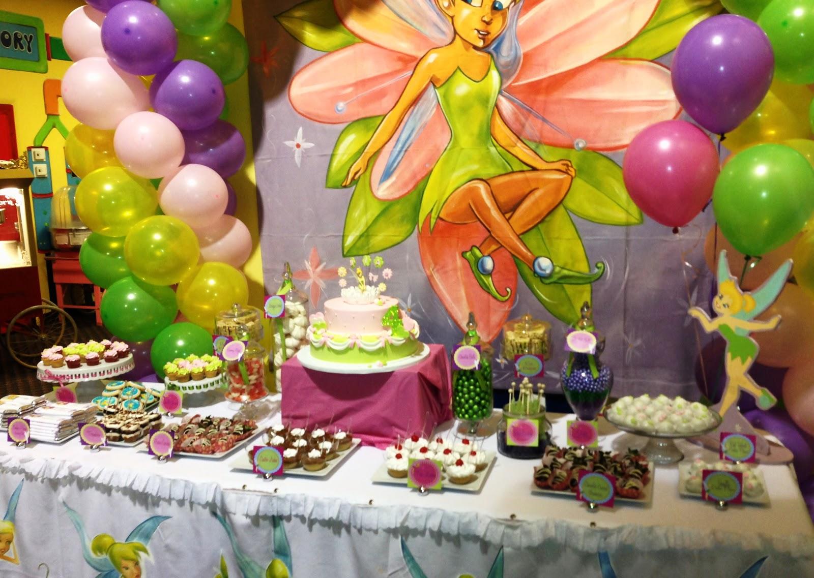 Sweet Treats Carousel Tinkerbell Dessert Table