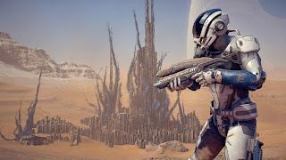 Mass Effect Andromeda Gamecube Wallpaper