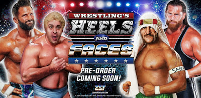 Wrestling's Heels and Faces Series 1 Action Figures by Zombie Sailor Toys
