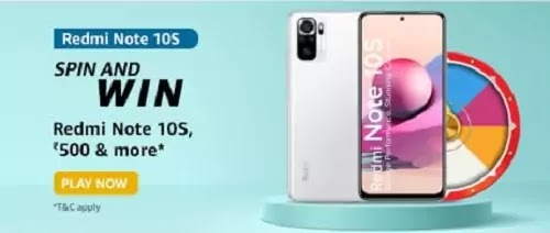 What are the camera specifications of Redmi Note 10S?