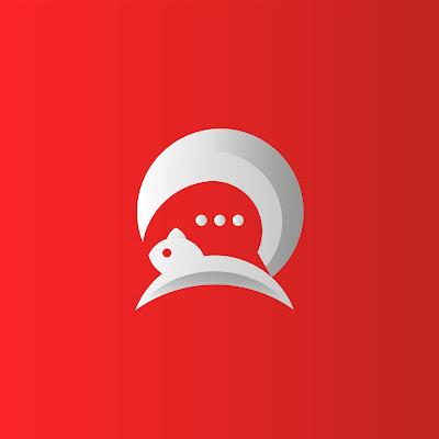 Chat Squirrel Logo by HvBrands
