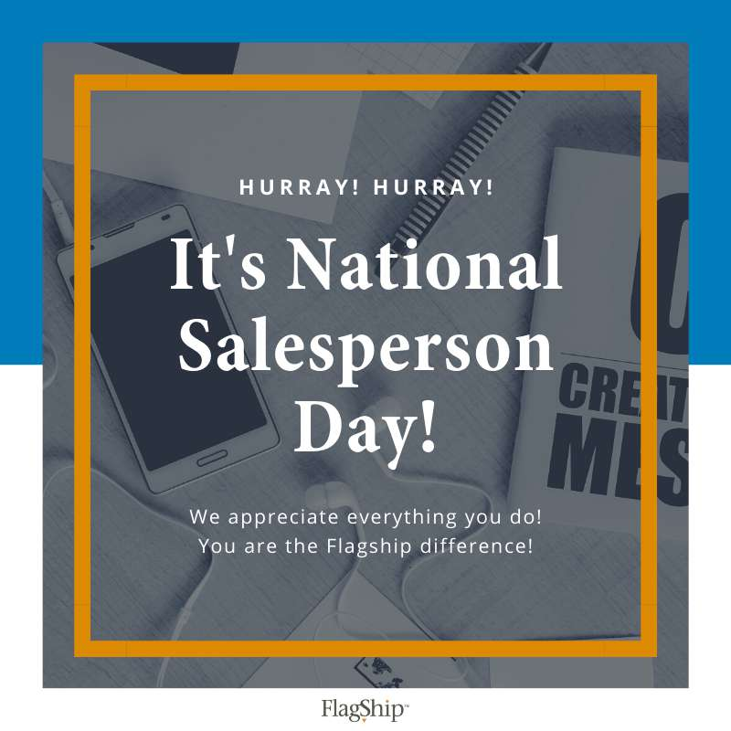 National Salesperson Day Wishes Sweet Images