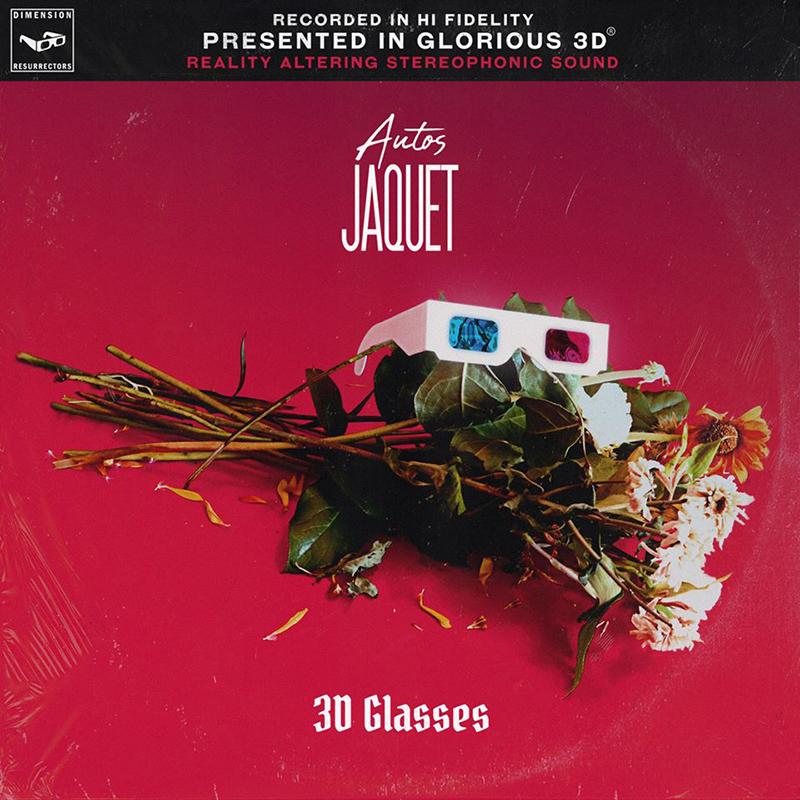 "Autos Jaquet spin alt rock post punk psychedelia on ""3D Glasses"""