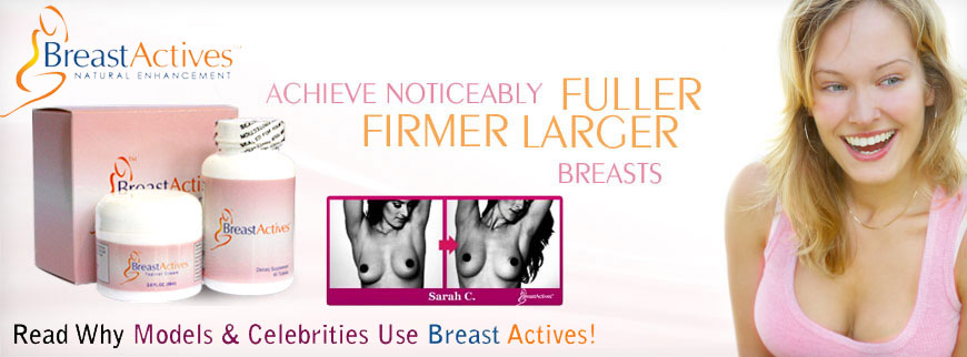 Comments on breast actives