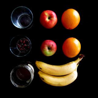 Składniki na sałatkę owocową