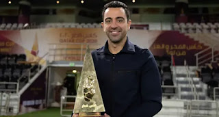 Barcelona legend Xavi's claim his 5th trophy as a coach with Al Sadd