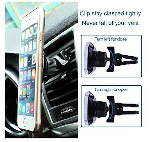supporto magentico con pinza per cellulare auto