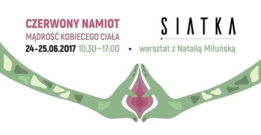 """Warsztaty """"Czerwony Namiot"""" w Siatce."""