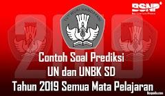 Prediksi Soal dan Kunci Jawaban UN US SD/MI 2019
