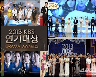 [Curhat] About MBC. KBS and SBS Drama Award 2013 - My Short Obsession