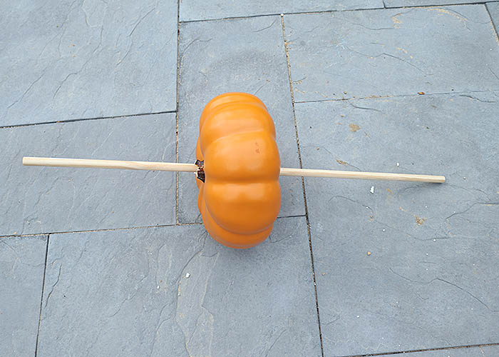 Pumpkin Topiaries DIY